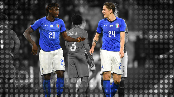 Moise Kean And Nicolo Zaniolo Mancini S Youngsters Have Italy Dreaming Of Glory Again